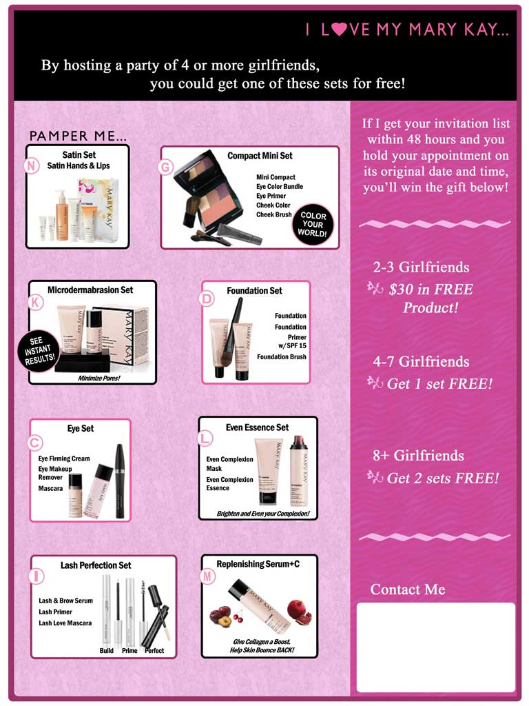 Mary Kay Client Sales