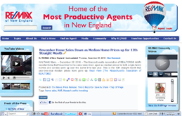 RE/MAX of New England Website